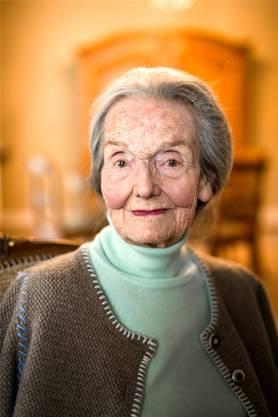 Anne-Marie Höchli (1923–2018), erste Einwohnerratspräsidentin in der Stadt Baden.