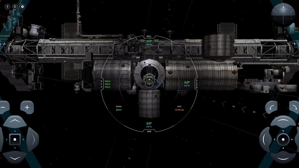 «SpaceX Simulator» - Schaffst du es, sicher an der ISS anzudocken?
