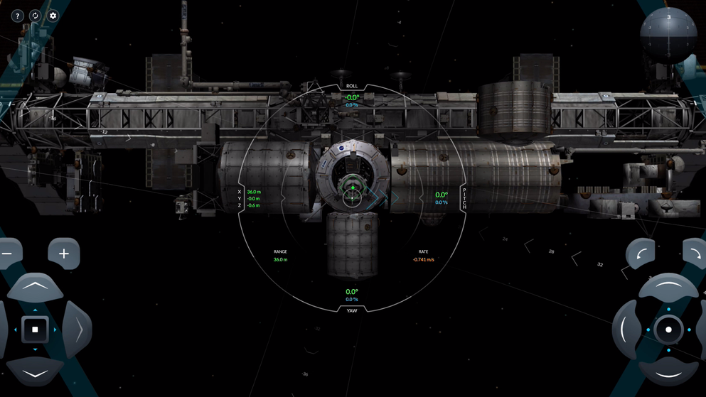 Digital: Space X Simulator
