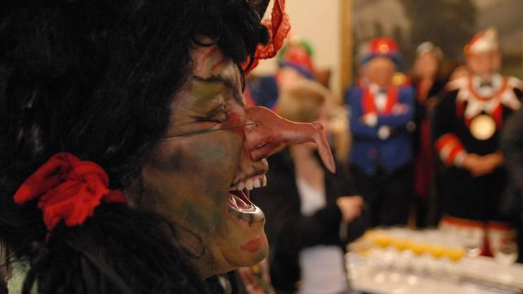 Hexe ohne Fratze, dafür mit obligater Nase (Symbolbild)