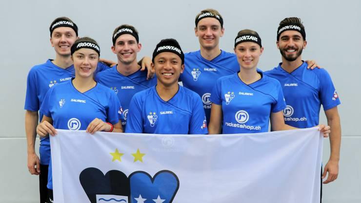 Das Team Argovia steht nach sieben Spielen und der somit beendeten Vorrunde ungeschlagen an der NLA-Spitze des Badmintonsports.