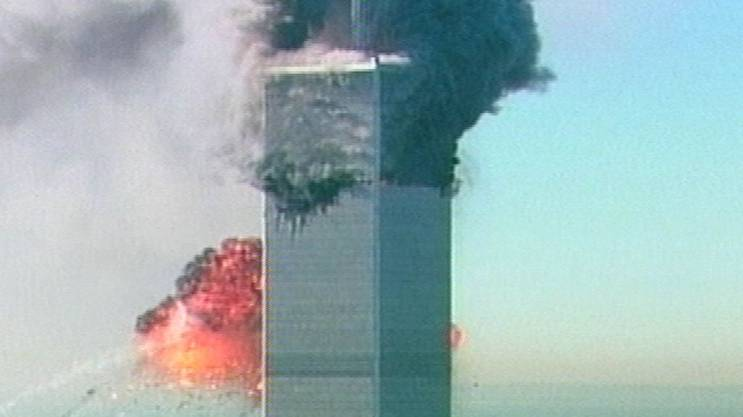 11. September 2001: Zwei Flugzeuge rasen in das World Trade Center.
