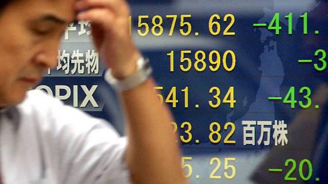 Sorgen über US-Wirtschaft in Japan