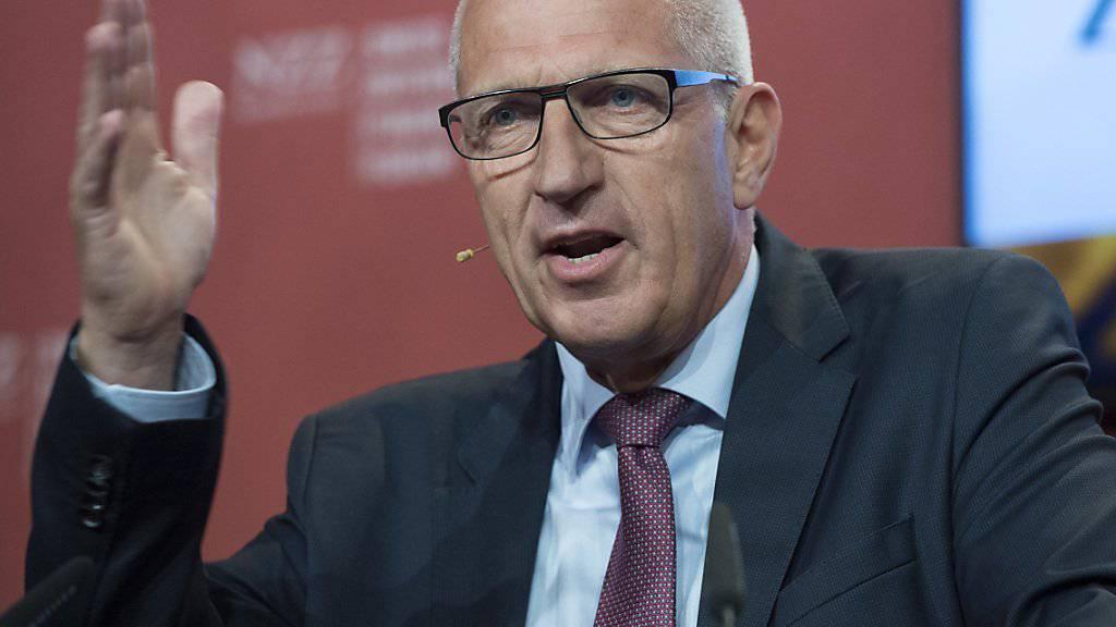 Der frühere Raiffeisen-Chef Pierin Vincenz tritt heute seinen Job als Verwaltungsratspräsident bei Helvetia an.