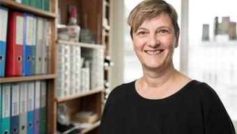 Susanne Slavicek in ihrem Büro am Schlossbergweg: «Die Festivalvorbereitung ist jedes Mal ein grosser Kraftakt.»