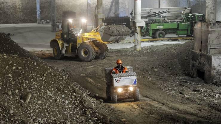 Bauarbeiten an der Durchmesserlinie Zürich