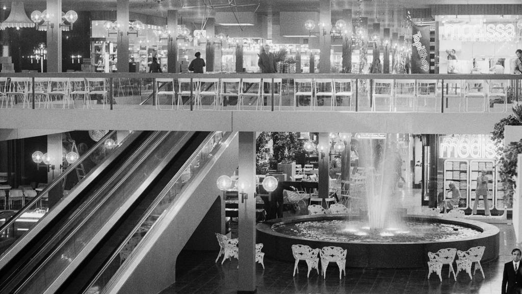 Vor 50 Jahren eröffnete das erste Shoppingcenter der Schweiz
