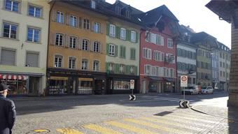 Das Geschäft von Patrick Huber liegt seit über 15 Jahren an der Vorderen Vorstadt im gelb-goldenen Haus.
