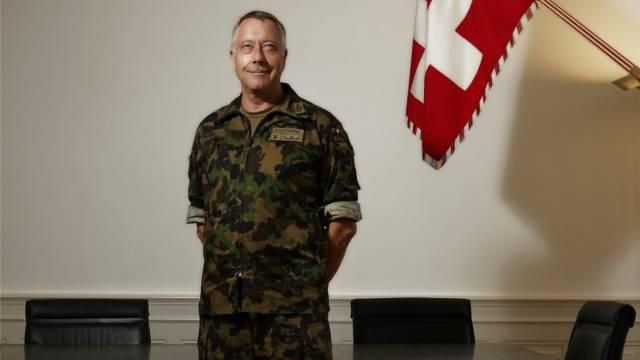 Armeechef André Blattmann. Foto: Chris Iseli