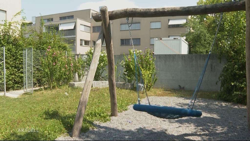 Patrouillieren in Buchser Siedlung Securities wegen Kinderlärm?