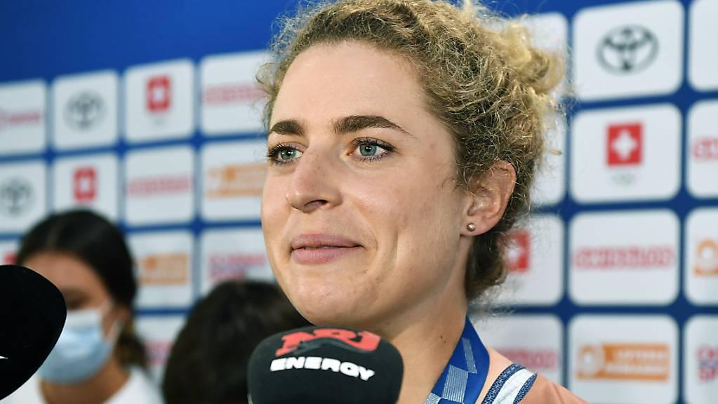 Marlen Reusser, Silbermedaillengewinnerin im olympischen Zeitfahren, ist weiterhin Leaderin der Simac Tour in den Niederlanden