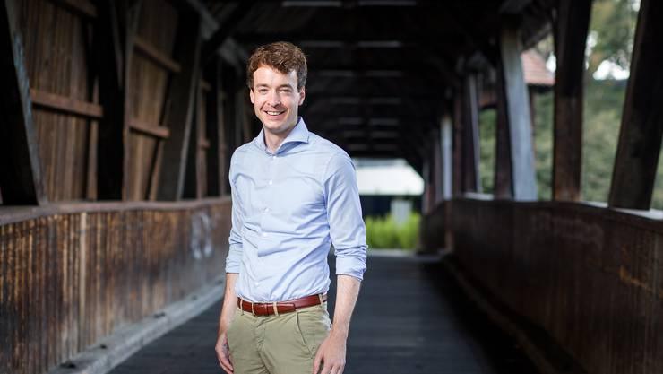 Adrian Schoop (31, FDP, Turgi) ist der jüngste Aargauer Gemeindeammann. Auf Platz zwei landet...