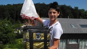 14-jähriger sendet einen Ballon in die Stratosphäre und filmt den Höhenflug