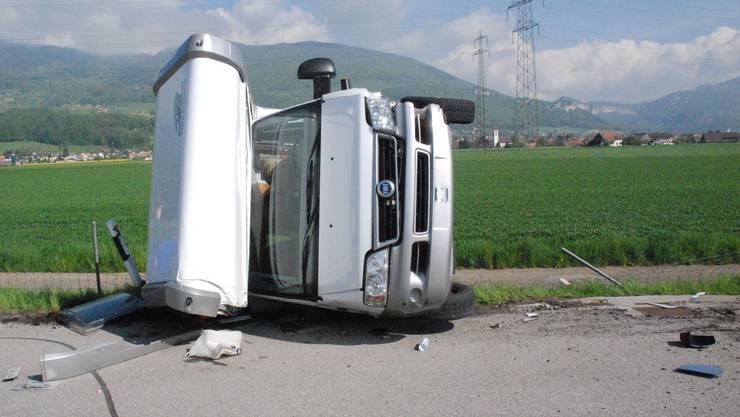 Verletzt wurde bei dem Unfall niemand