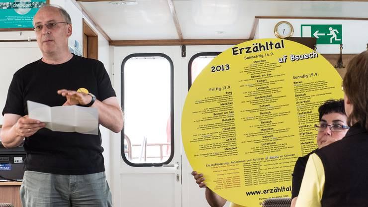 Reto Müller stellt das neue Programm vor.