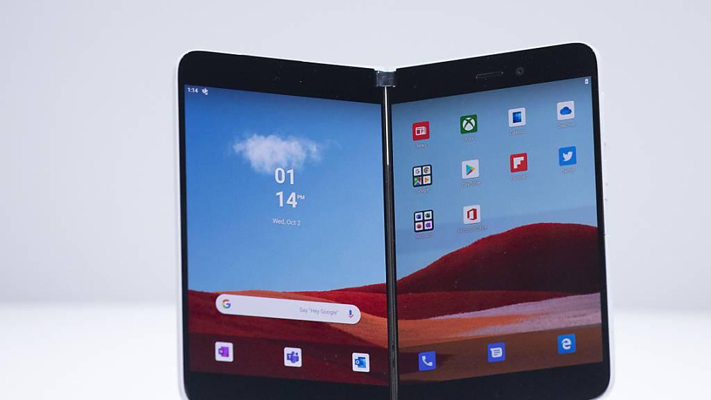 Microsoft bringt Klapp-Smartphone «Surface Duo» auf den Markt
