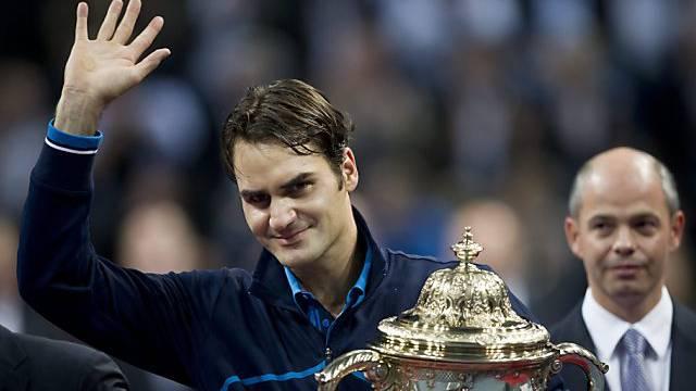Roger Federer tritt zur Titelverteidigung an.