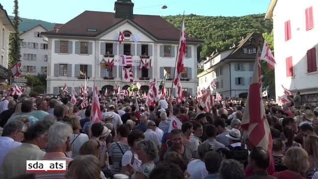 Moutier: Neue Kantonsgrenze ist schon auf der Karte