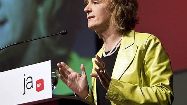 SP-Fraktionschefin Wyss kritisiert Wende der SVP