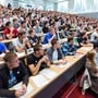 Volle Hörsäle gehörten bisher zum Alltag auf dem Campus Brugg-Windisch.
