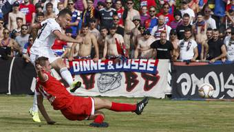 Der Genfer Kevin Bua trifft am Genfersee in Pully dreimal und erlöst den FC Basel, der gegen die Amateure lange Probleme hat.
