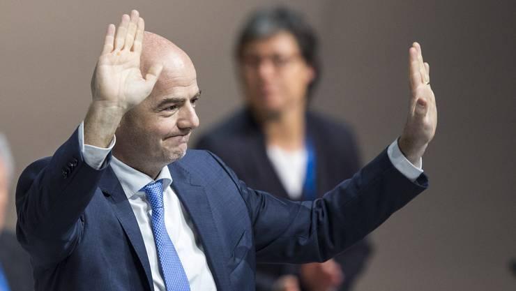 Der neue Präsident: Gianni Infantino
