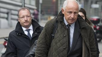 Drei Jahre Gefängnis, davon sechs Monate unbedingt für die Chefs der ehemaligen KPT-Krankenkasse Walter Bosch (rechts) und Bernhard Liechti.