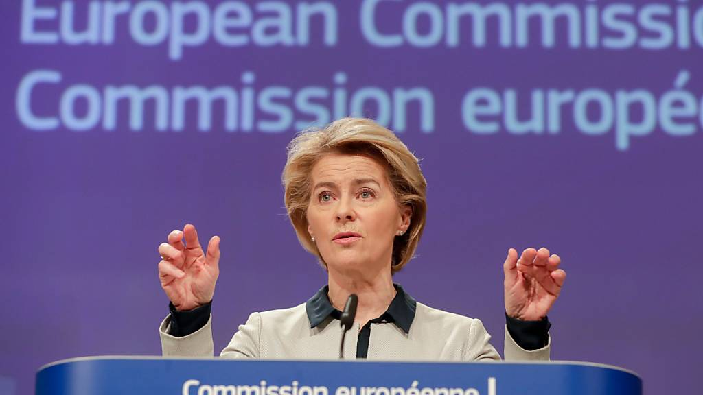 Von der Leyen will Änderungen am EU-Haushaltsplan wegen Coronavirus