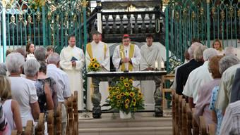 Kardinal Koch zu Besuch am Verenatag in Bad Zurzach