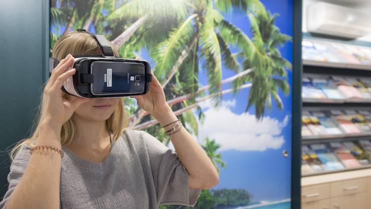 Auslandreisen sind momentan nur mit der Virtual Reality Brille möglich.