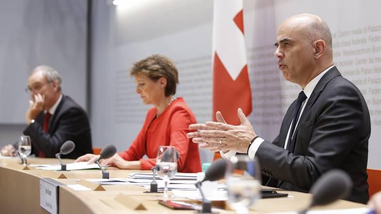 Regieren im Ausnahmezustand: Corona-Krisenmanager Alain Berset.