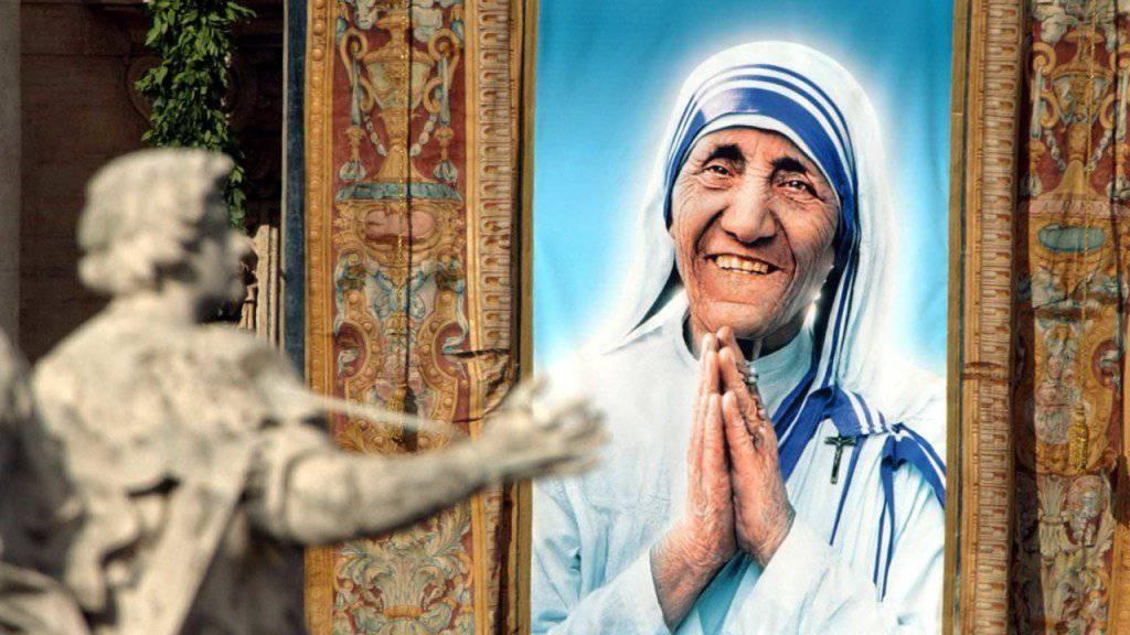Im September will Papst Franziskus die für ihre guten Taten bekannte Ordensschwester Mutter Teresa heiligsprechen. (Archiv)