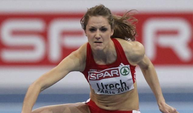 Hier sprintet Lisa Urech zum EM-Silber