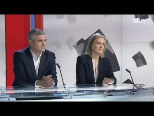 Zu Gast bei RTS am 27.12.2015: Brigitte und Benoît Violier sprechen über ihr Restaurant, das in die Liste der besten der Welt aufgenommen wurde (Interview in Französisch)