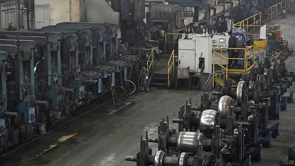 US-Industrie mit weniger Aufträgen