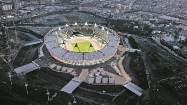 Olympiastadion in London. Foto: Keystone