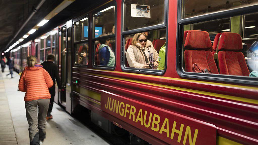 Die Jungfraubahn-Gruppe hat im ersten Halbjahr einen Rekordgewinn eingefahren. (Archiv)