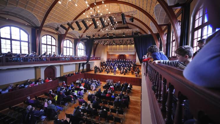 Das Weihnachtsoratorium wurde im Konzertsaal Solothurn aufgeführt