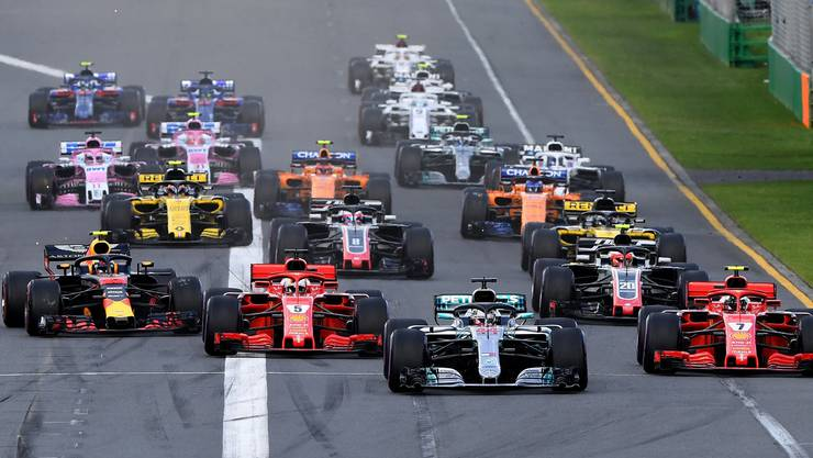 Formel 1: Das Überholen wird schwieriger, sagen die Fahrer.
