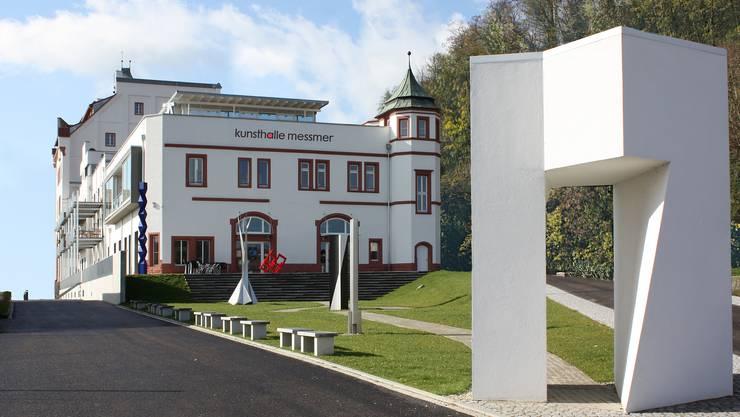Blick auf die Kunsthalle in der ehemaligen Riegeler Brauerei.