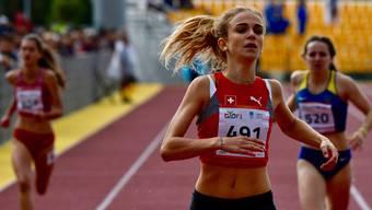 Giulia Senn wurde an der Delegiertenversammlung des ALV für ihre Teilnahme an den olympischen Jugendspielen in Ungarn geehrt.