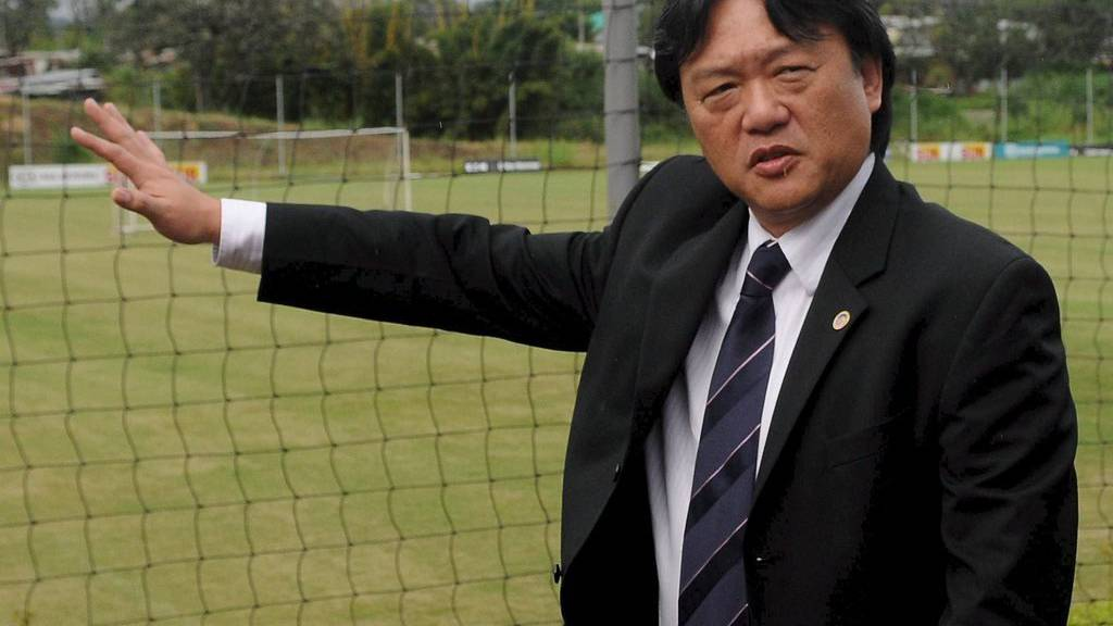 Der Fussballfunktionär aus Costa Rica, Eduardo Li, wird an die USA ausgeliefert. (EPA/JEFFREY ARGUEDAS/KEYSTONE)