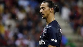 Starstürmer Zlatan Ibrahimovic zog sich eine Hüftverletzung zu