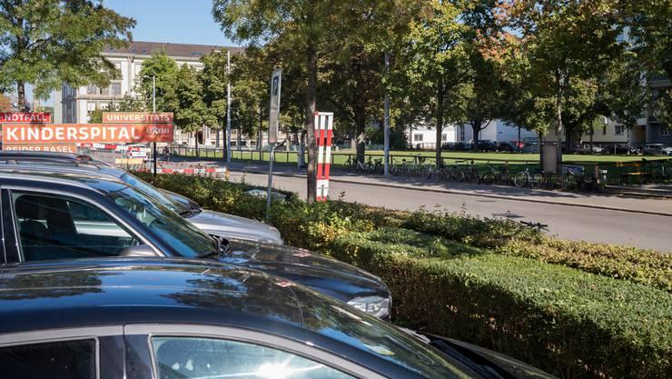 Unter den Tschudi-Park soll ein Parking gebaut werden.