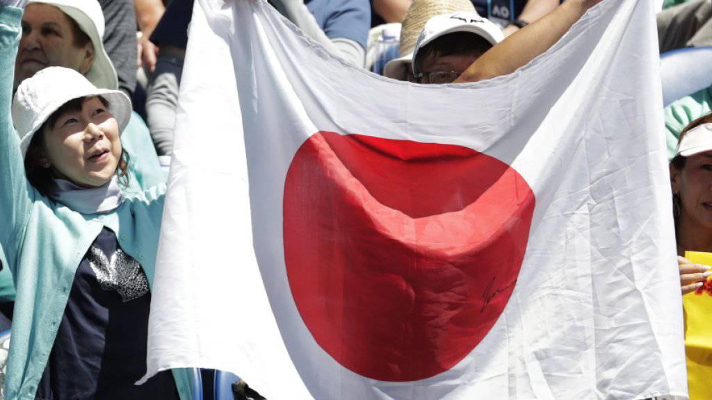 Erster Halbfinal seit 1994: Die Japaner(-innen) zeigen am Australian Open Flagge