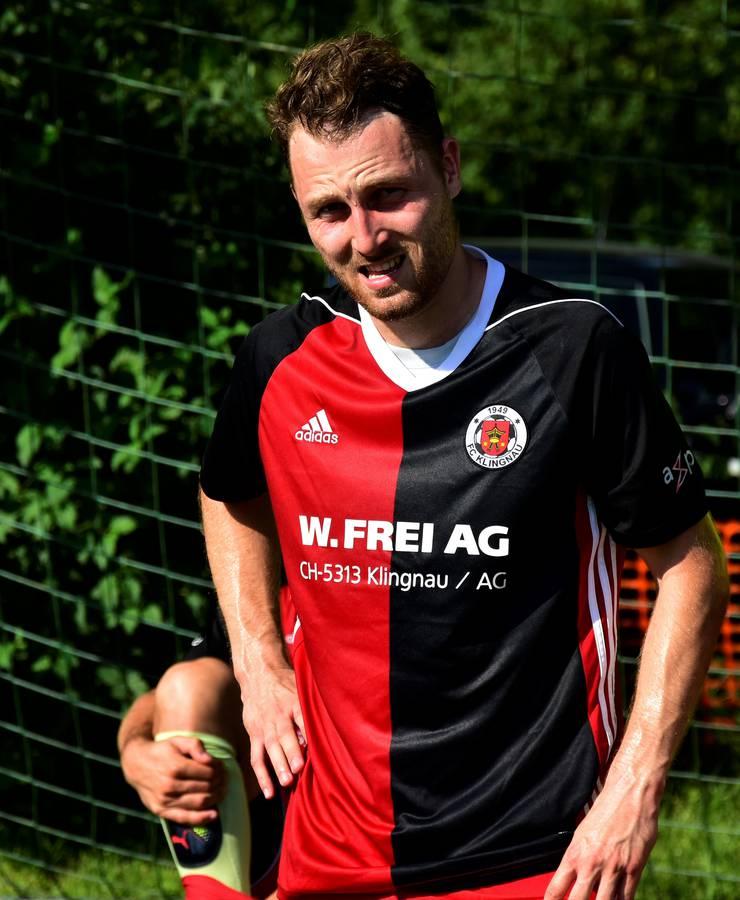 Cyrill Thrier (FC Klingnau) ist nicht gerade im Hoch.