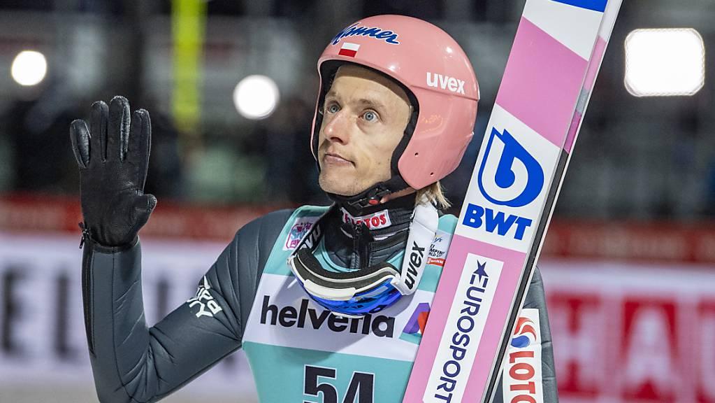 Vorjahressieger Dawid Kubacki verpasst wie das ganze polnische Team den Auftakt in die Vierschanzentournee in Oberstdorf