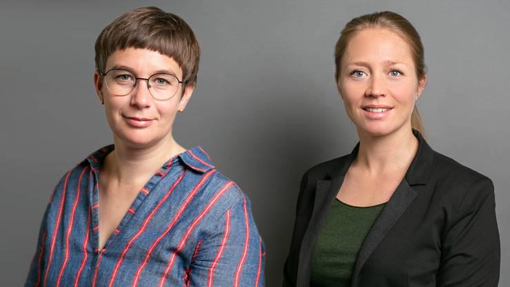 Doris Kleck (l.) und Anna Wanner.