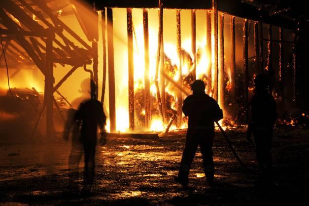 Beim Feuer wurde niemand verletzt.
