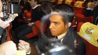 Erfährt das Urteil wohl erst 2012: Alberto Contador
